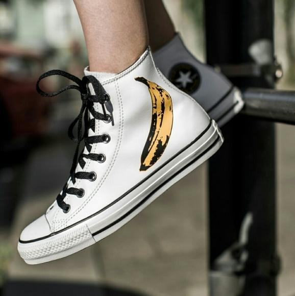 Converse Other - Converse | Andy Warhol Banana High Tops| Size 13|